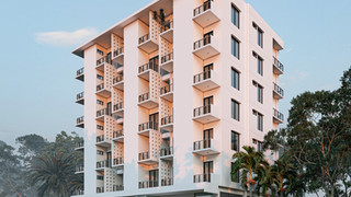 3D Exterior Rendering of Multistoried Apartment Building | Shuprovat & Akashprodip
