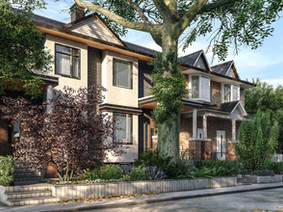 Duplex townhouse in 30  Badgerow Ave Toronto