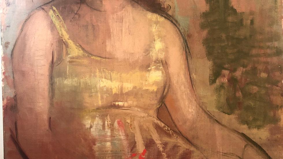 Woman in Repose by Rachael Drennen