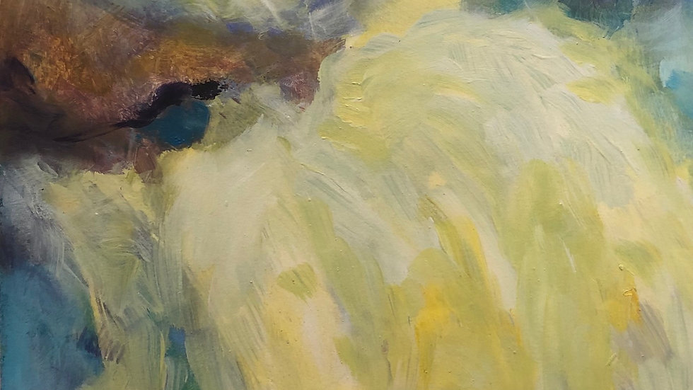 Yellow Iris 6 by DB Smith