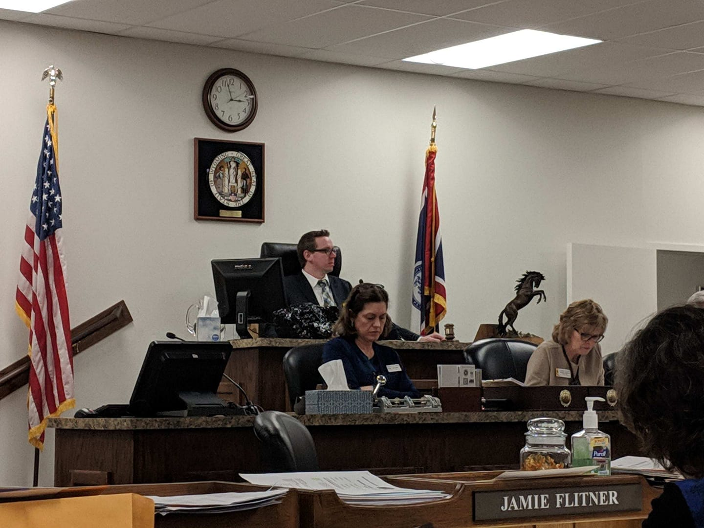 Rep Olsen Chairing the Committee of the Whole 2019