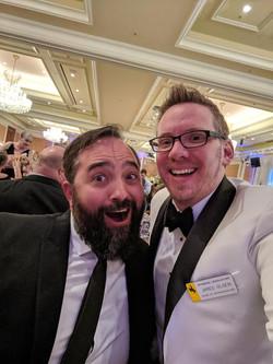 Rep Olsen and Zac Martin