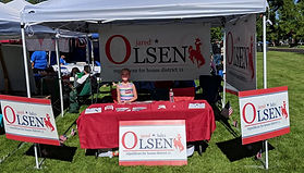 Volunteer for Jared Olsen Wyoming State House of Representative