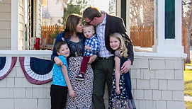 Jared Olsen Wyoming House of Representative and His Family