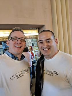 Rep Olsen and Pastor Jason King