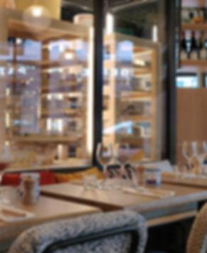 vitrine fromages restaurant