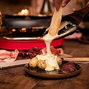 Fromage raclette fondue