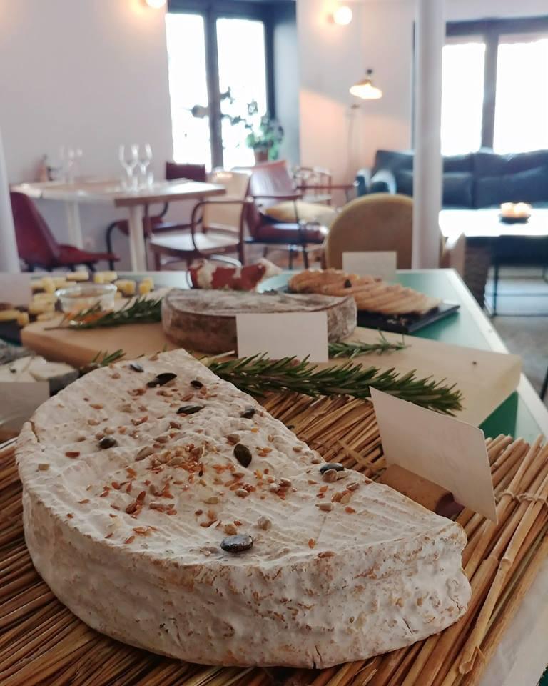 Buffet de fromages fermiers