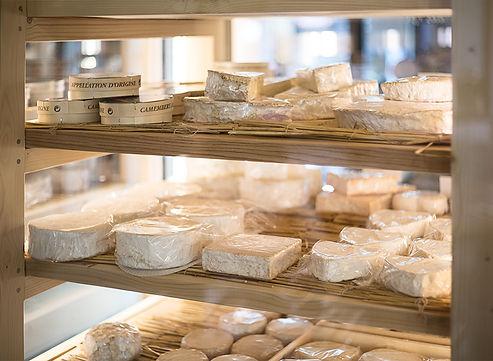 Vitrine fromage