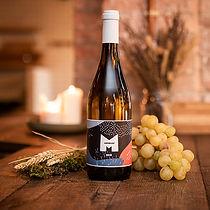 Vin blanc cuvee Monbleu