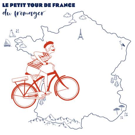 Bienvenue dans le Petit Tour de France du Fromager !