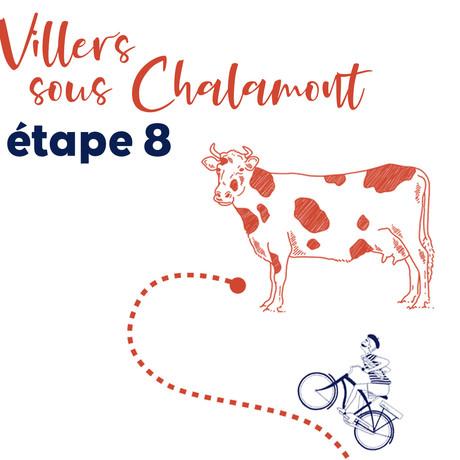 Étape 8 - Villers-sous-Chalamont