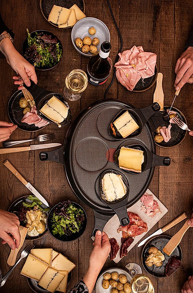 Digital Raclette party