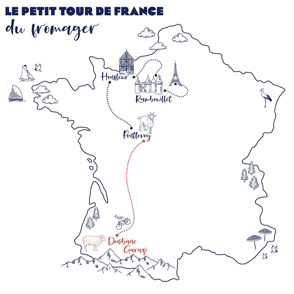 Petit tour de France du fromager Donibane Garazy