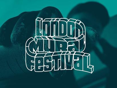 London Mural Festival, un nuevo festival de arte urbano.