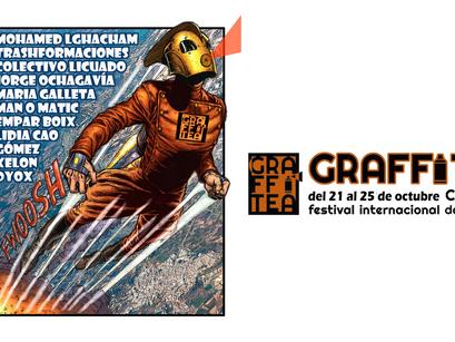 Llega GRAFFITEA 2020, el Festival de Arte Urbano de Cheste.