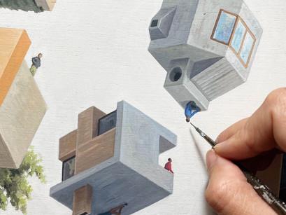 Cinta Vidal: habitar el espacio deconstruido.