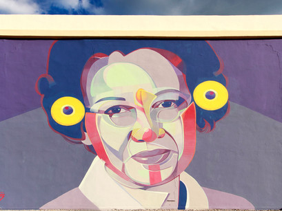 Mujeres de ciencia y arte urbano.