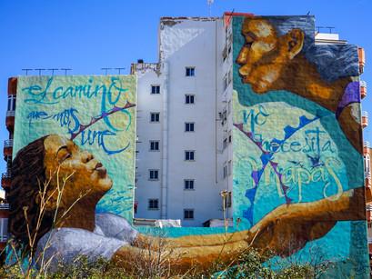 Mésquemurs: arte urbano en Sagunto.