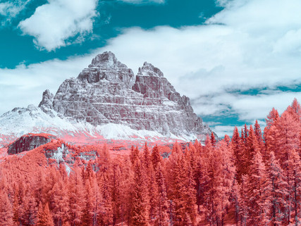 Infraland, fotografía infrarroja por Paolo Pettigiani