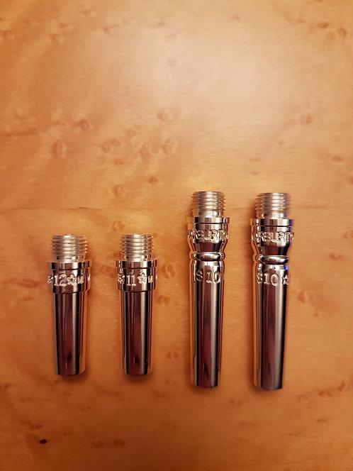 Warburton piccolo backbores with CORNET shank for Schilke piccolo