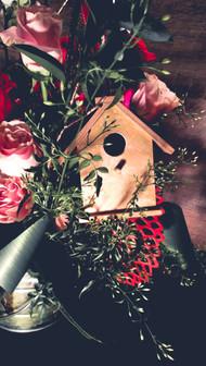 Love Bird Floral Arrangement