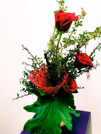 Floral Art Arrangement