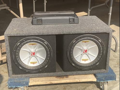 Kenwood 170 W   KAC- 7204 Stereo/Bridgeable Power Amplifier