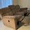 Thumbnail: Double reclining sofa