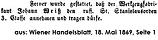 J. B. Weiß Stanislaus-Orden 1869