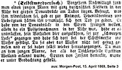 Weiland Sohn Morgen Post 1869