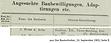 Weiß & Sohn Baubewilligung 1901