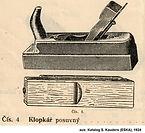 Reformhobel Kauders ESKA 1924