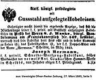 Herrmann Niederlage Pest 1845