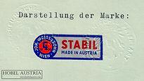 Weiss & Sohn, Marke Stabil 1959 farbig