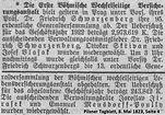 Skrivan junior Wechselseitige 1923