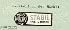Weiss & Sohn, Marke Stabil 1959 s/w