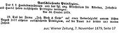 Weiß & Sohn Privilegium Universalzirkel 1879 (verlängert)