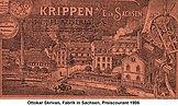 Skrivan Fabrik Sachsen 1906