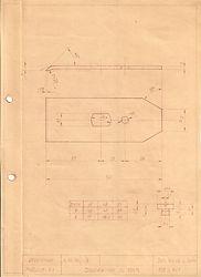 Originalzeichnung Weiss & Sohn, Spanbrecher zu 108 1/2