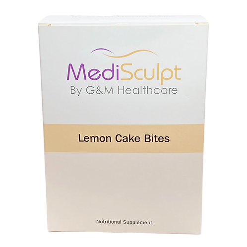 Lemon Cake Bite