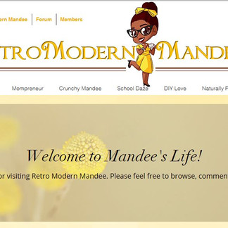 Retro Modern Mandee