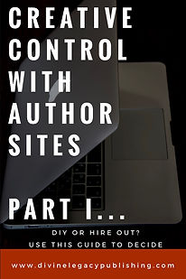 Creative Control with Author Sites