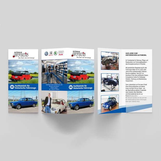 Autohaus Evers Oldtimer Flyer