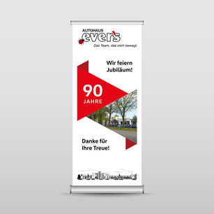 Autohaus Evers Banner