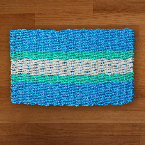 Blue/Green/Seafoam Mat