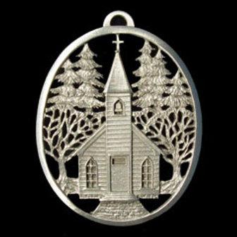 Village Church Ornament