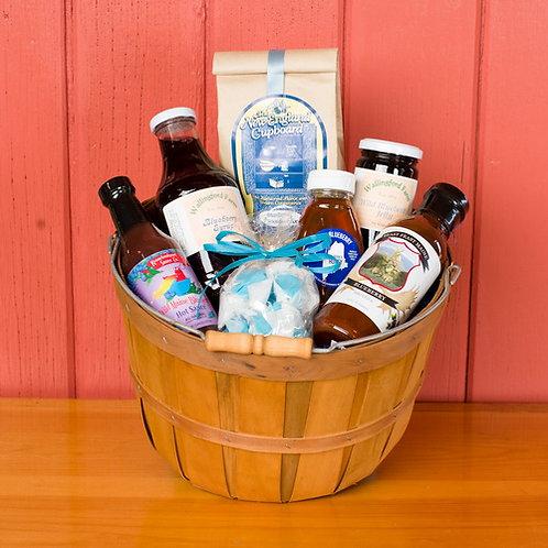 Wild Maine Blueberry Gift Basket