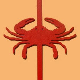 Red Crab Wreath Hanger