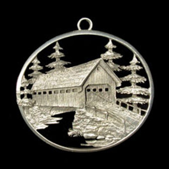 Covered Bridge Ornament